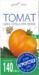 """Семена Томат """"Бычье сердце оранжевое"""", средний, высокорослый, 0,1 гр (10/500) """"АГРОУСПЕХ"""""""