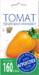 """Семена Томат """"Перцевидный оранжевый"""", средний, высокорослый, 0,1 гр (10/500) """"АГРОУСПЕХ"""""""
